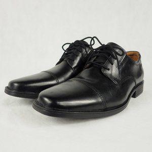 Clarks Men's Dress Shoes Tilden Cap Black 8.5